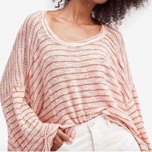 Free People Hacci knit top nwot